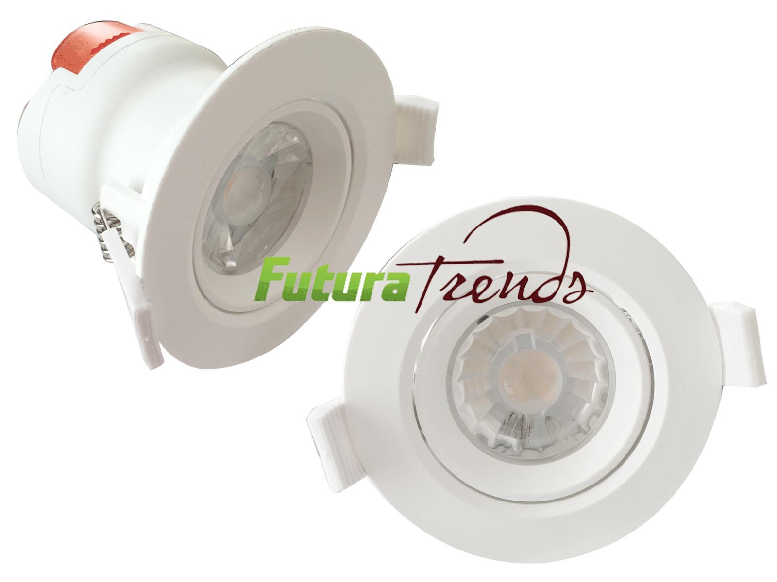led einbauleuchte down spot einbau strahler lampe 7w 230v. Black Bedroom Furniture Sets. Home Design Ideas